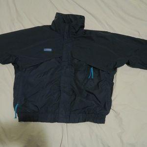 VTG Columbia Radial Sleeve Whirlibird Ski Jacket M
